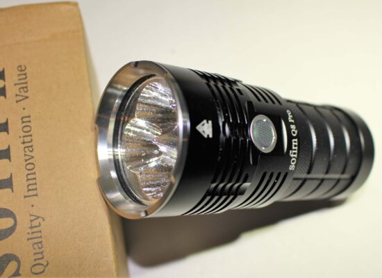 Sofirn Q8 Pro – 11,000 Lumen Rechargeable Flashlight